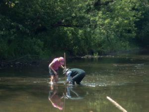 Stream Study, Macroinvertebrate collection and ID Program at Nature At the Confluence @ Nature At The Confluence | South Beloit | Illinois | United States