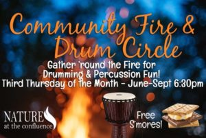 Community Fire & Drum Circle @ Nature At The Confluence Campus | South Beloit | Illinois | United States