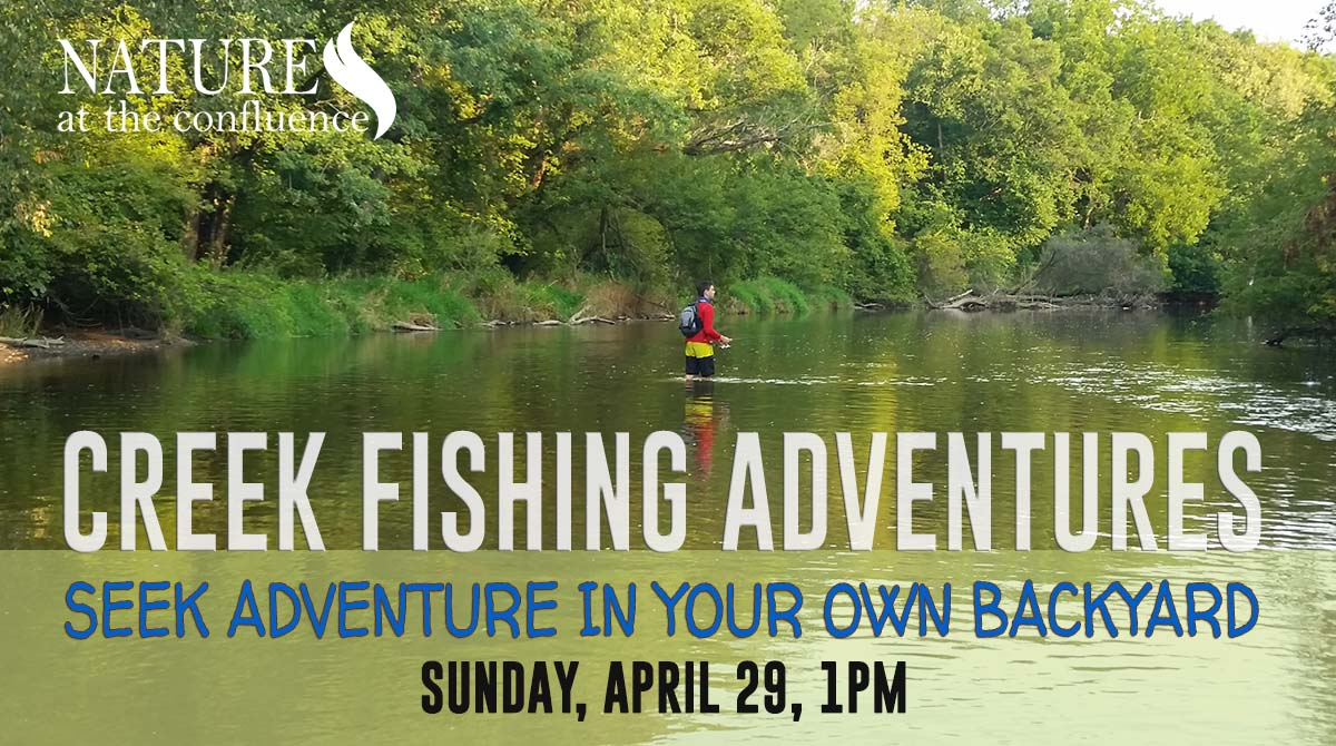 Turtle Creek Fishing Adventures : Seek Adventures in Your Own Backyard @ Nature At The Confluence Campus