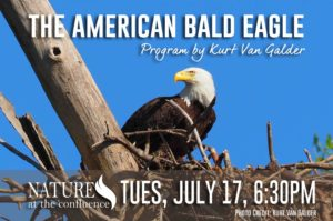 """The American Bald Eagle"" presented by Kurt Van Galder @ Nature At The Confluence Campus 