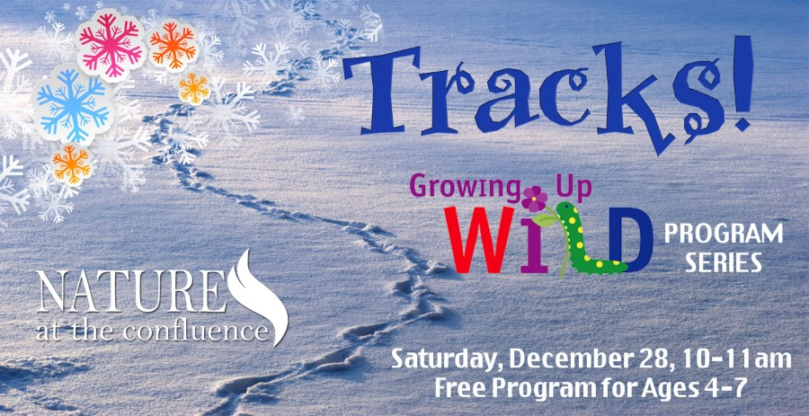 """Tracks!"" Growing Up Wild™ Program  - Ages 4-7 @ Nature At The Confluence Campus 