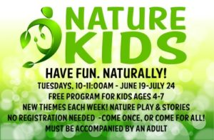 Nature Kids program | Have fun naturally! (free program) @ Nature At The Confluence Campus | South Beloit | Illinois | United States