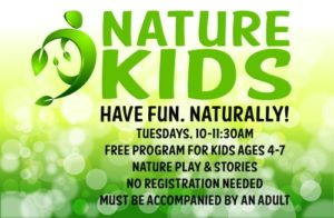 Nature Kids program | Have fun naturally! @ Nature At The Confluence Campus