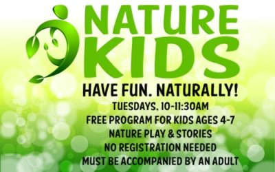 Kids + Nature = Fun at our new Nature Kids program!
