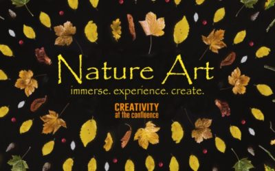 Nature Art Day, a unique Fall art event that emphasizes collaborative creativity