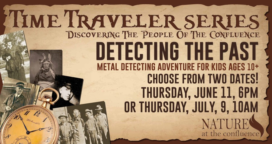 Detecting the Past – Metal Detecting Adventure for Kids Ages 10+ @ Nature At The Confluence Campus | South Beloit | Illinois | United States