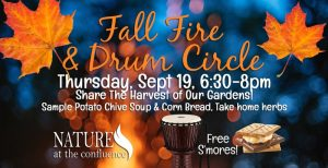 Fall Celebration and Community Fire & Drum Circle @ Nature At The Confluence Campus | South Beloit | Illinois | United States