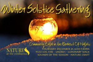Winter Solstice Gathering and Luminary Walk @ Nature At The Confluence Campus | South Beloit | Illinois | United States