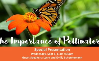 """Learn all about the buzz about pollinators at """"The Importance of Pollinators"""""""