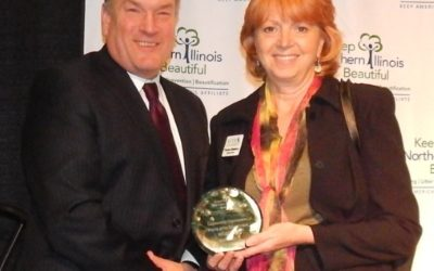 Beloit 2020 receives Outstanding Corporate Friend of the Environment Award for Nature At The Confluence project