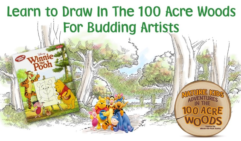 Learn to Draw In The 100 Acre Woods | For Budding Artists @ Nature at the Confluence | South Beloit | Illinois | United States