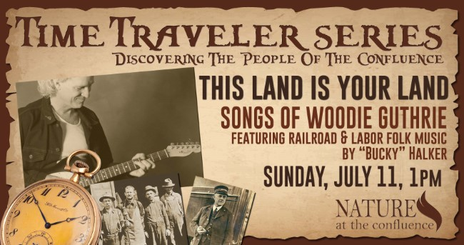 """This Land Is Your Land"" Folk Songs of Woodie Guthrie featuring Bucky Halker 