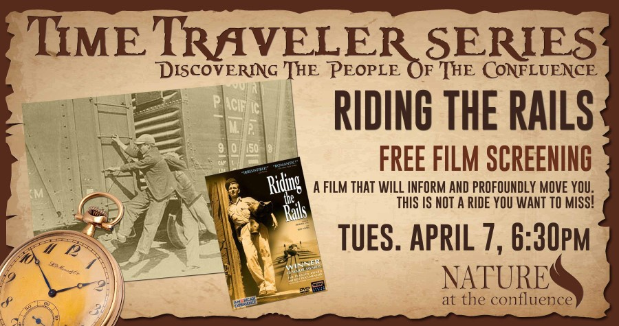 "CANCELLED ""Riding The Rails"" film screening 