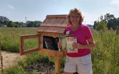 Little Free Library Installed at Nature At The Confluence