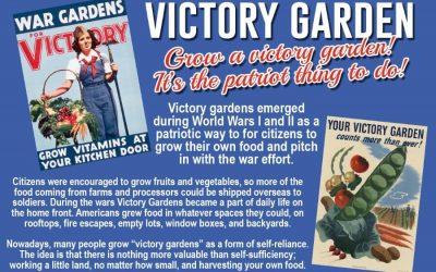 Grow A Victory Garden!