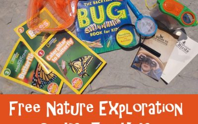 Explore Outdoors With Free Nature Exploration Packs For Kids!