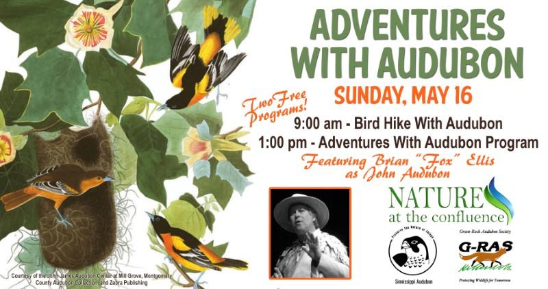 "Bird Hike With Audubon featuring Brian ""Fox"" Ellis"