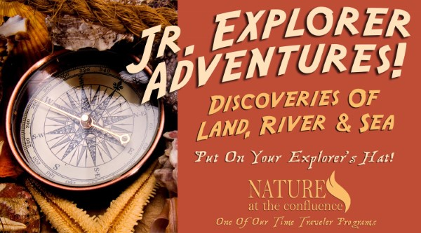 Jr. Explorer Adventures:  Discoveries Of Land, River & Sea   Time Travelers Series