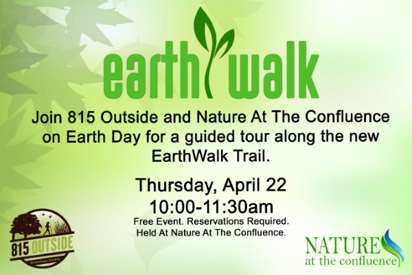 FILLED – Guided EarthWalk To Celebrate Earth Day   With 815 Outside