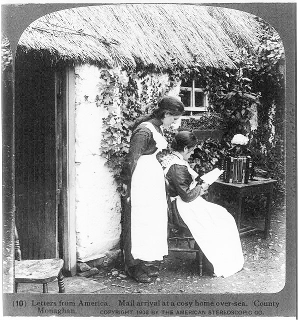 "The ""American Letter"" Home – How Irish Immigrant Women Supported Their Families Back Home in Ireland"