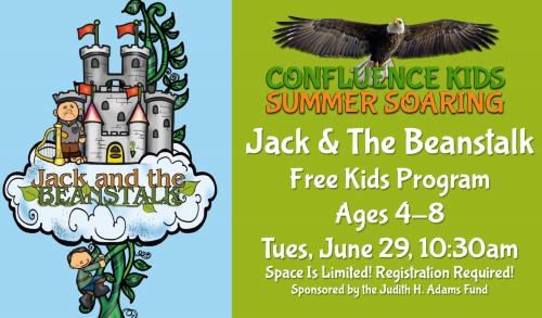 Jack & The Beanstalk   Free! Confluence Kids Summer Soaring Program