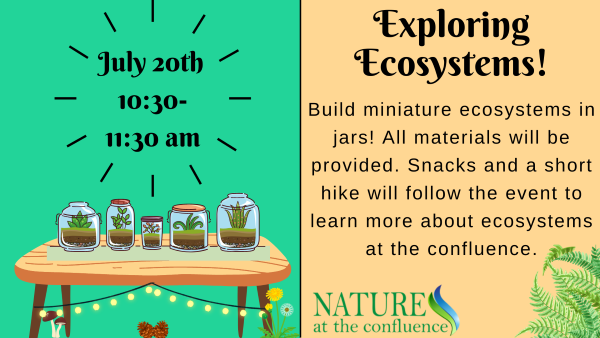 Exploring Ecosystems    A Learn, Make & Take Program for ages 7-10