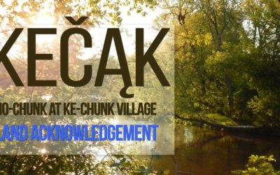 Land Acknowledgement adopted by Nature At The Confluence